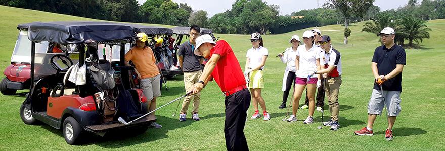 beginner golf class